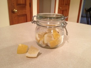 Lemons Ready for Organic Apple Cider Elixir!