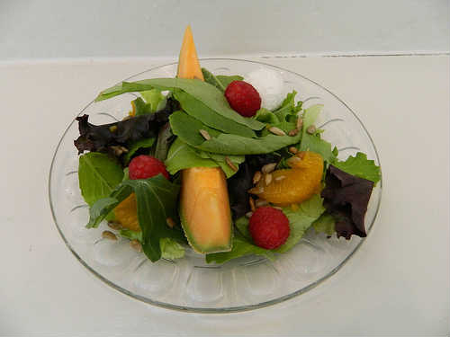 Healthy eating includes lots of fresh fruits and vegetables