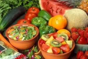eating plenty of fresh fruits and vegetables leads to better gut health