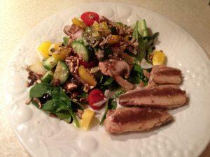Salad with Sardines