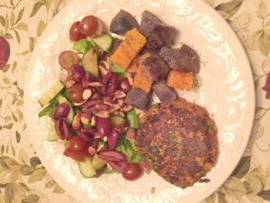lentil bean veggie burgers