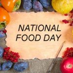 Today is National Food Day