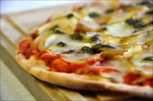 In Italy, I hope pizza is part of a healthy diet.