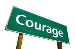 Depression and Courage...not for the faint of heart