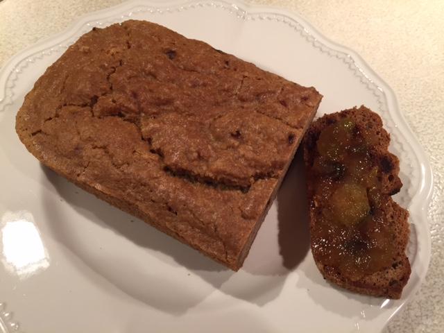 Gluten Free Cinnamon Cranberry Orange Bread