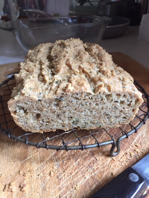 Gluten Free Almond Bread with Capers